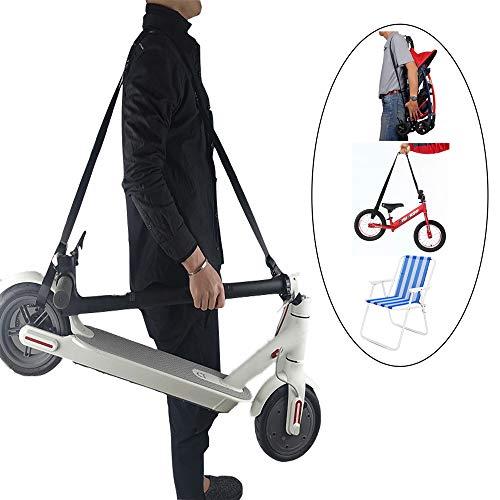 SZATS Adjustable Kick Scooter Shoulder Strap, Scooter Strap Carrying and Folding Bike Carrying Strap (No Scooter)