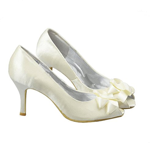 Minitoo , Sandales pour femme Ivory-7.5cm Heel