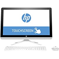 2017 Newest HP 23.8 Full HP IPS Touchscreen All-in-One Desktop Computer, Intel Dual-Core i3-6100U, 8GB RAM, 1TB HDD 7200rpm, DVDRW, WLAN, Bluetooth, Webcam, HDMI, Windows 10 (Certified Refurbished)