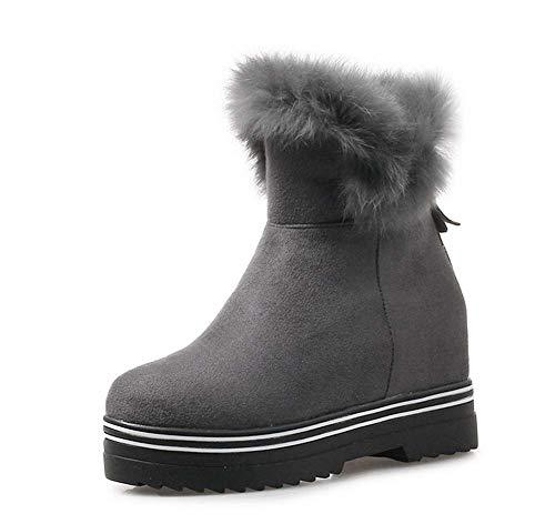 Botas de Nieve de Felpa para Mujer 2018 Otoño Invierno Plataforma de Moda Botines: Amazon.es: Zapatos y complementos