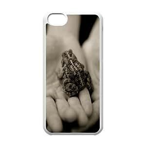 IPhone 5C Case, Frog Men Design Case for IPhone 5C {White}