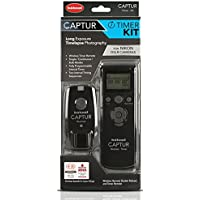 Hahnel Captur Remote Camera /Flash Trigger Captur Remote Timer Kit for Nikon, Black (HL -CAPTUR TK-N)