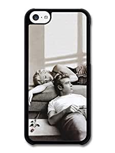 James Dean and Marilyn Monroe Case For HTC One M7 Cover A1129