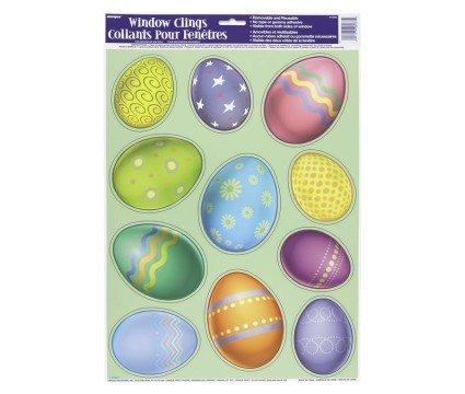 Easter Egg Window Clings