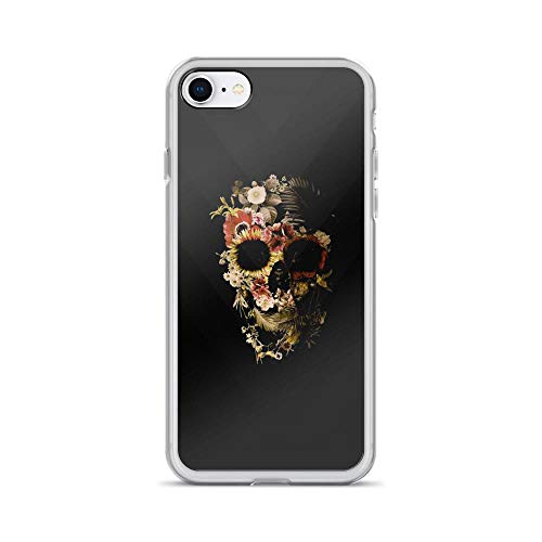iPhone 7/8 Pure Clear Case Cases Cover Just Cavalli Skull ()