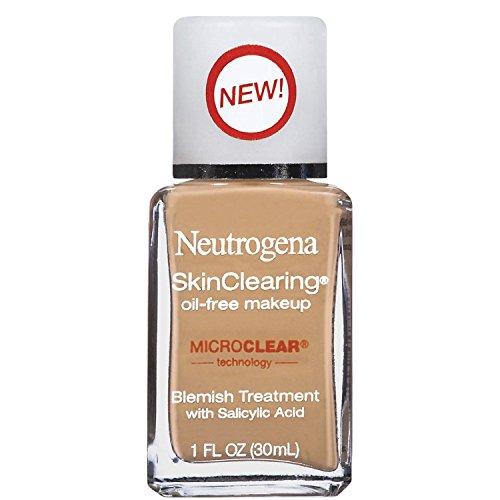 (Pack 2) Neutrogena Skinclearing Oil-free Makeup Warm Beige 90