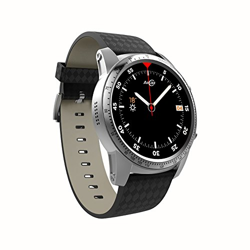 Docooler AllCall W1 Bluetooth Smart Watch Android 5.1 2GB RAM 16GB ROM 3G/2G Watch-Phone MTK6580m Quadcore Heart Rate Sport GPS Call Notification Pedometer Alarm Metal Body MP3 MP4 WiFi