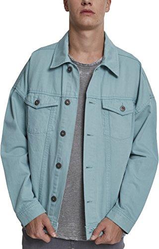 Dye Azul 01306 Oversize Jacket Hombre Vaquera Blue Classics Urban para Mint Chaqueta Garment tfz4H1qx