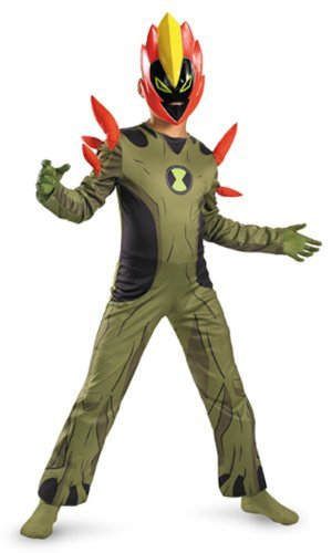 Boys Ben 10 (Ben 10) Swampfire Costume S [parallel import goods]