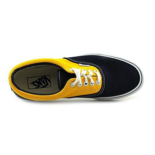 Vans Era Canvas Golden Coast Kids Dress Blue/Sport Yellow 4.5uk