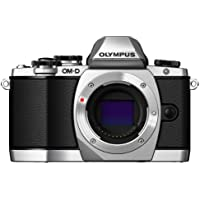 Olympus OM-D E-M10 Mirrorless Digital Camera (Silver)- Body only