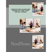 NerdNotes Summary Guide to CFA Level I