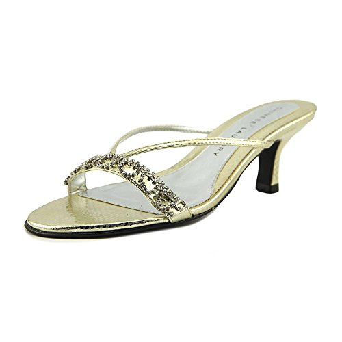 Open T Womens Laundry Chinese Casual Toe Strap Gold Sandals Jello Light SxWARRBn