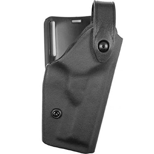 Duty Safariland Holster 6280 - Safariland 6280 Level II SLS Retention Duty Mid Ride Holster, Black, STX Tactical, S&W M&P 9, 40, Right Hand