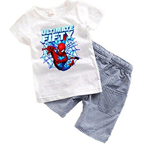 2PCS  (Spider Man 2017 Costume)