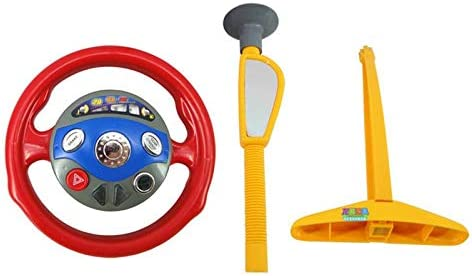 BianchiPatricia Electronic Backseat Driver Car Seat Steering Wheel Kids Children Driving Toy
