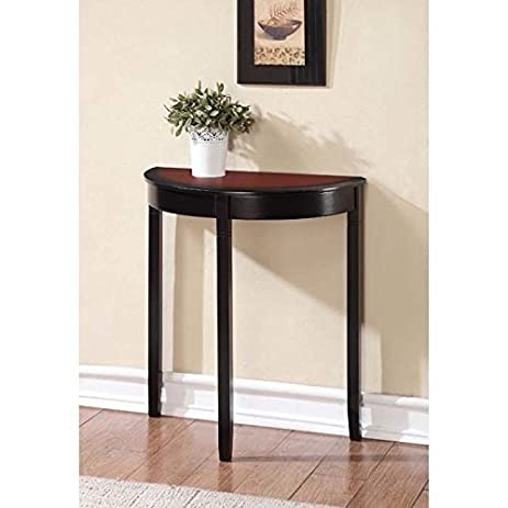 Amazon.com: Linon Camden Demi Lune Console Table: Home & Kitchen