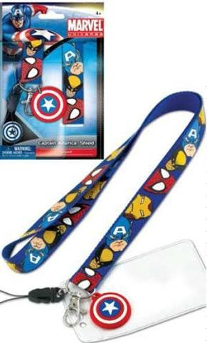 captain america keychain holder - 6