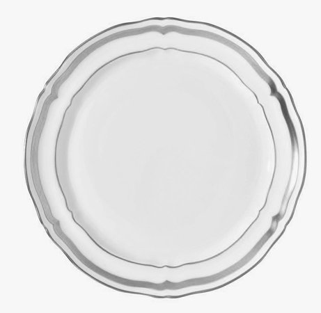 MARIE ANTOINETTE PLATINUM BREAD and BUTTER PS (Raynaud Platinum Dish)