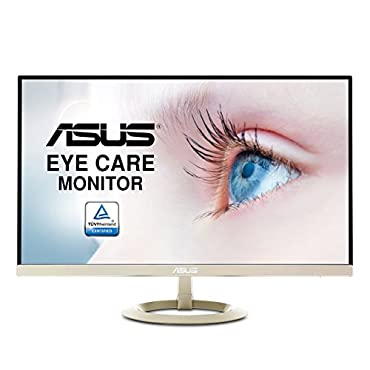 ASUS 27 WQHD (2560 X 1440) IPS DP HDMI VGA Eye Care Monitor 27 Screen LED-lit Monitor (VZ27AQ)