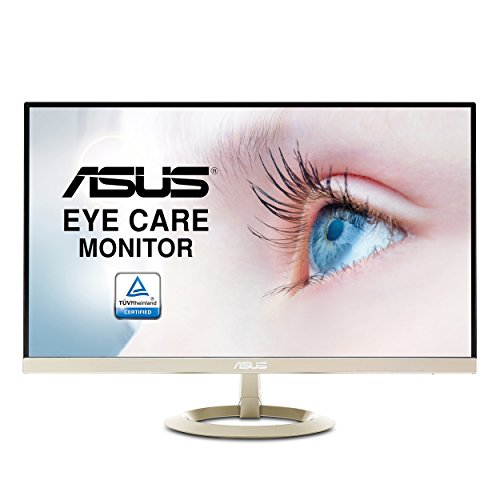 ASUS 27' WQHD (2560 X 1440) IPS DP HDMI VGA Eye Care Monitor 27-Inch Screen LED-lit Monitor (VZ27AQ)