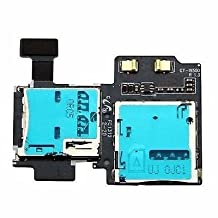 New Micro SD SIM Card Tray Slot Holder Replacement Repair Part for Samsung Galaxy S4 IV GT-i9500 i9505 i337/AT&T M919/T-Mobile SCH-i545/Verizon SPH-L720/Sprint SCH-R970/US Cellular (I9505)