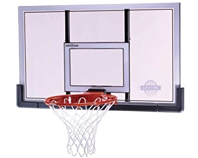 Lifetime 73729 48 in. Shatter Proof Backboard Rim Combo