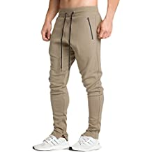 EU Men's Fitness Workout Running Bodybuilding Training Joggers Pants Trousers