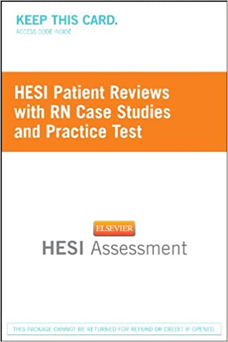 Hesi patient reviews with rn case studies and practice test hesi patient reviews with rn case studies and practice test 9781455727391 amazon books fandeluxe Images