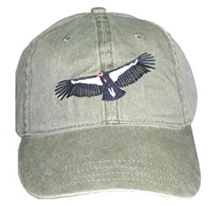 California Condor bordado algodón Cap: Amazon.es: Jardín