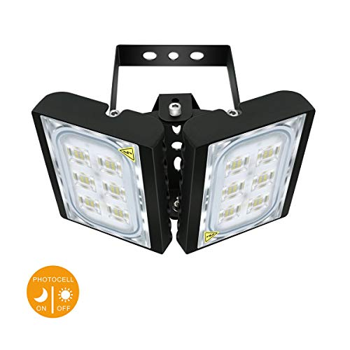 Motion Sensor Security Light, STASUN 2700lm 30W LED Flood Light Outdoor, 6000K Daylight, Built with Cree LED Chips, Waterproof, Great for Entryways, Yard and Garage