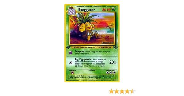 Exeggutor Uncommon Pokemon Card Original Jungle Unlimited 35//64