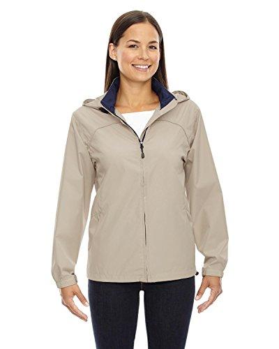 North End Ladies' Techno Lite Jacket>2XL PUTTY 78032