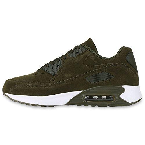 Sur Course Hommes Chaussures Sport De Paradis Daim La Unisexe Flandell Vert Bottes Olive Taille Y0UF6w
