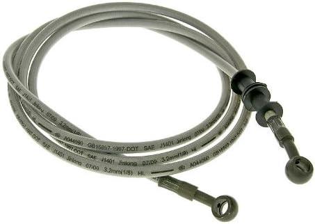 Bremsleitung Stahlflex f/ür Scheibenbremse hinten f/ür Motowell Retrosa 50