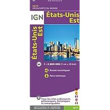 IGN #85103 ÉTATS-UNIS EST - EAST UNITED STATES
