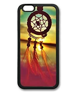 """Lilyshouse Dream Catcher 004 Rubber Shell with Black Edges Cover Case for Iphone 6(4.7"""")"""