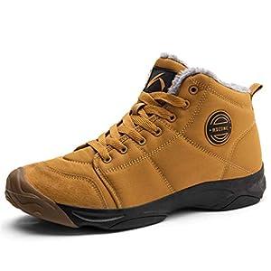 Axcone Chaussures Homme Femme Bottes Hiver imperméable Neige Randonnee Chaudement Chaudes Fourrure Baskets Bottines…