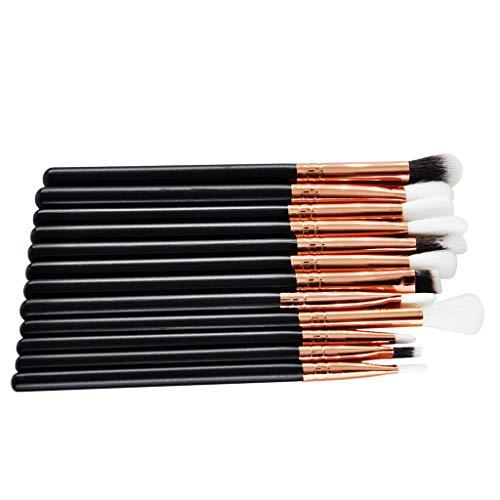 12pcs Eyeliner Brush Eyeshadow Applicator Eyes Makeup Cosmetic