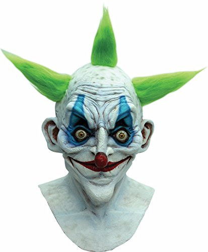 Old Crazy Clown Mask (Crazy Masks For Sale)
