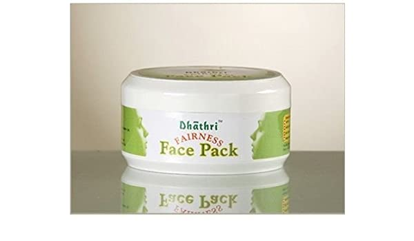 Amazon.com : Dhathri Fairness Face Pack 50g (Pack of 4) : Neem Herbal Supplements : Beauty