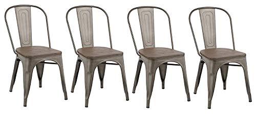 BTEXPERT 5031mcc-4 5031MCC Dining Chair, 18 inch
