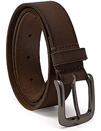 Boys' Big Leather Belt for Kids