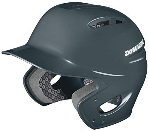 DeMarini Paradox Protege Pro Batting Helmet, Charcoal, Small/Medium (Helmet Pro Batting)