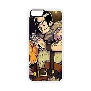 iPhone 6 Plus 5.5 Inch Cell Phone Case White Skull Girls Custom FDFNHHGSD3838