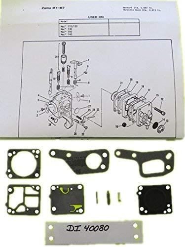 Amazon.com: superbobi-40080 .1zama M1 M7 RB19 Carb Kit ...
