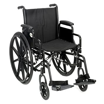 Amazon.com: Manual K3 ligero Bariatric silla de ruedas ...