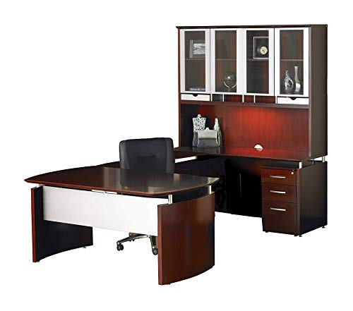 - Wood & Style Furniture Desk Premium Office Home Durable Strong