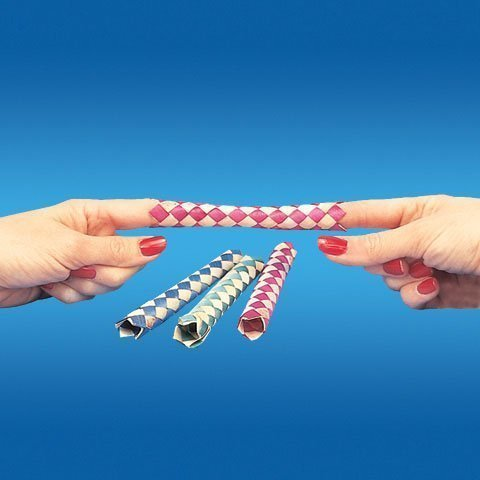 Chinese Finger Trap (1 X Chinese Finger Traps (144 per package), Assorted Colors)