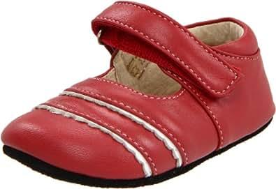 See Kai Run - Patucos para niña rojo rojo 0-6 Mo.